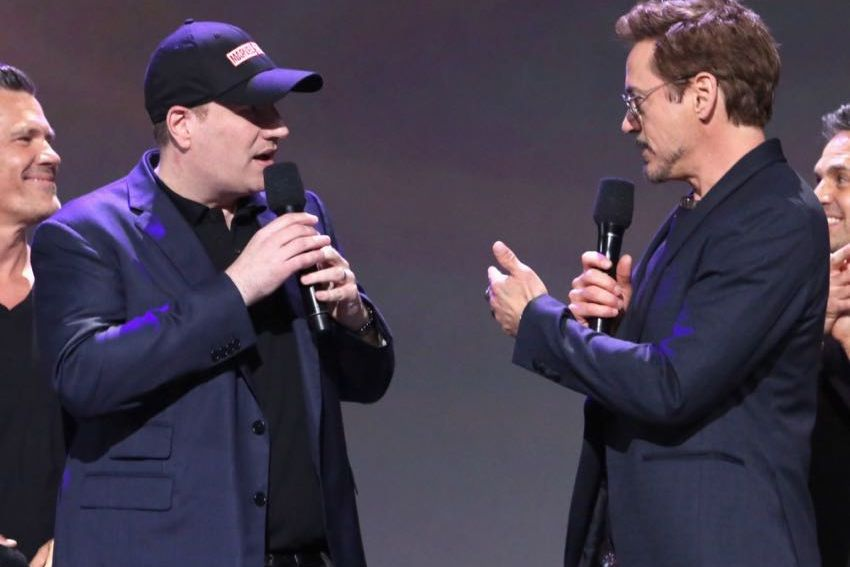 D23 Expo 2017 Marvel Kevin Feige Robert Downey Jr