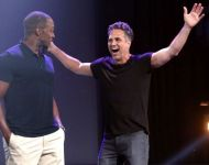 D23 Expo 2017 Marvel Mark Ruffalo Anthony Mackie