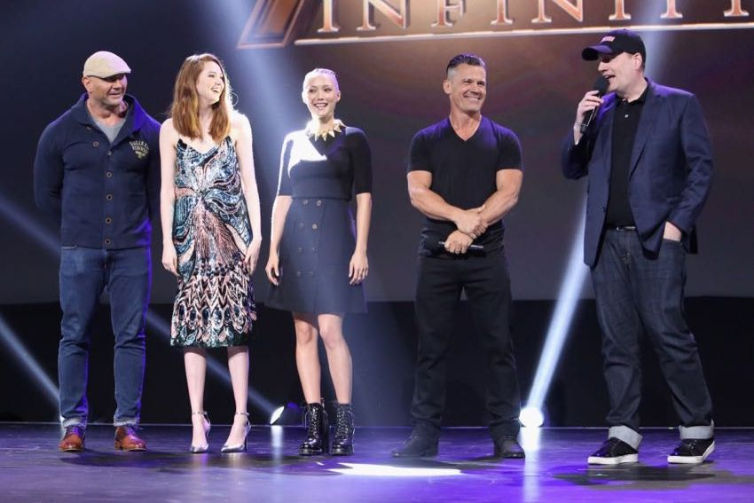 D23 Expo 2017 Marvel cast 6